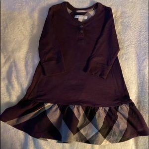 AUTHENTIC BURBERRY Novacheck Dress size 3T